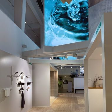 Enjoying water and design with all your senses - the AQUADEMIE from Hansgrohe